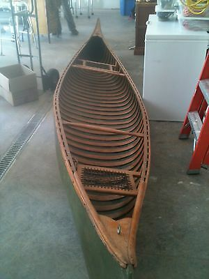 Antique Kennebec Canoe from the 1920's