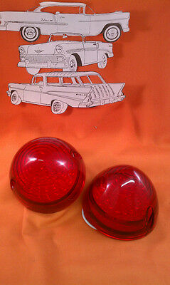 1956 Chevy Belair Red Taillight Lens LED Sedan Wagon Hardtop Convertible Nomad