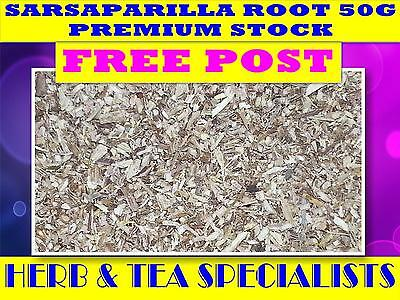 SARSAPARILLA ROOT 50G TEA☆Smilax ornata☆DRIED HERB☆ PREMIUM STOCK☆ FREE POST