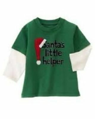 Gymboree Winter Moose Tee- 18-24mths