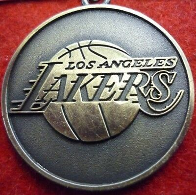 Portachiavi Keychain In Metallo Basket Nba-Los Angeles Lakers-Bryant-Young-Lin