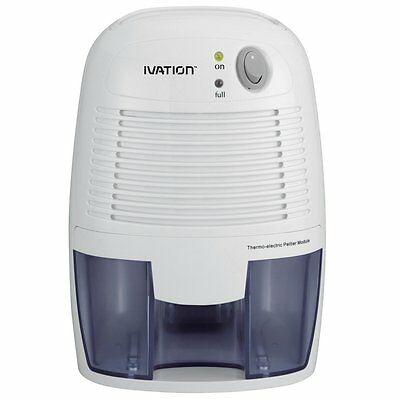 Ivation DehumMini Small-Size Electric Dehumidifier - Great for Smaller Rooms,
