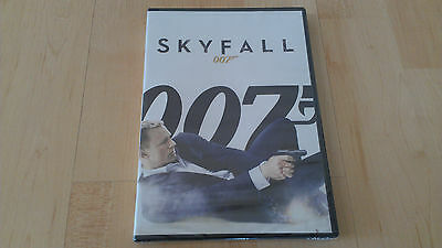 BRAND NEW SKYFALL DVD 007 DANIEL CRAIG JAMES BOND ACTION & ADVENTURE PG-13
