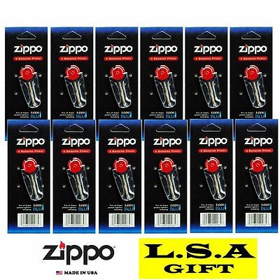 Zippo Lighter Flint Replacement Pack of 12 Value Packs (72 X Flints)