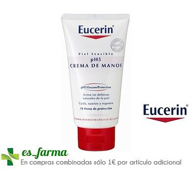 Eucerin Ph5  Piel Sensible Crema De Manos, 75Ml