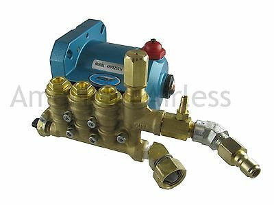 CAT Pump 4PPX25GSI-057 2.5 gpm 3300 psi Fits 6.5 hp Engine CAT Pump 4PPX
