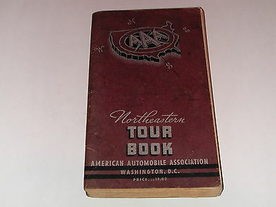1937 AAA Travel Guide Tour Book for the NORTHEAST
