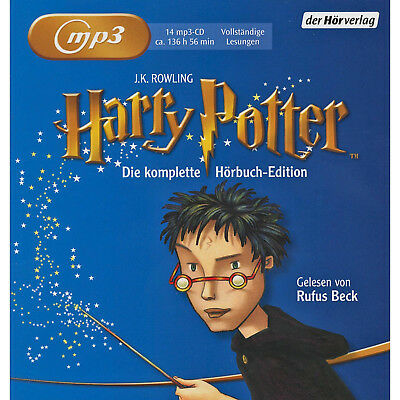 Harry Potter - Die komplette Hörbuch-Edition - 14 MP3-CD - Kinder/Jugend