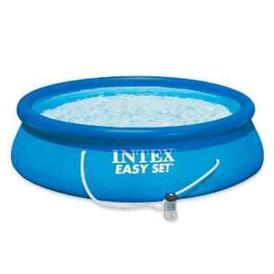 Intex Easy Set Pool (8 x 30) with filter (2.44M x 0.76M), New!