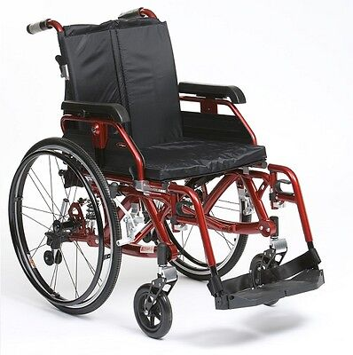 Full Suspension folding Wheelchair - Enigma K Chair choice of colours