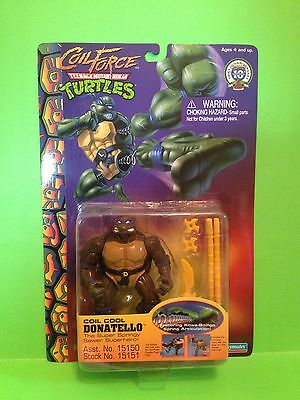 TMNT Vintage Coil Force Coil Cool Donatello SEALED MOC RARE