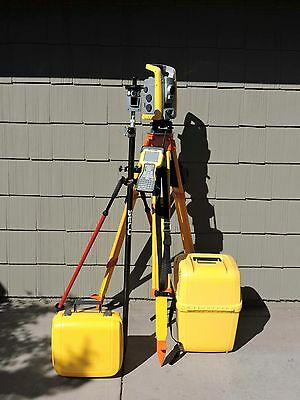 "Trimble S6 3"" DR300+ Robotic Reflectorless Total Station w/ TSC2 w/ 12.50 SC !!!"