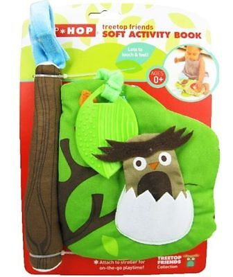 New baby toy colorful soft activity plush book tree treetop friend