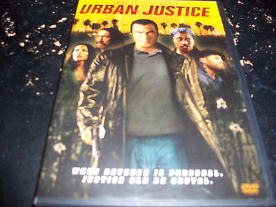 STEVEN SEAGAL: URBAN JUSTICE!! USED & IN EXCELLENT CONDITION!!!