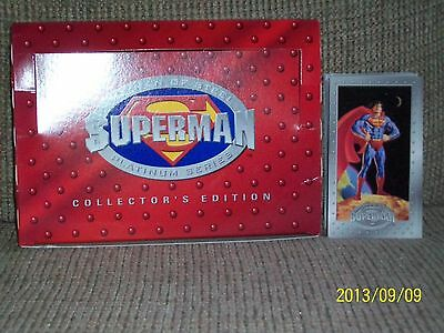 SkyBox Superman Man of Steel Collector's Edition set