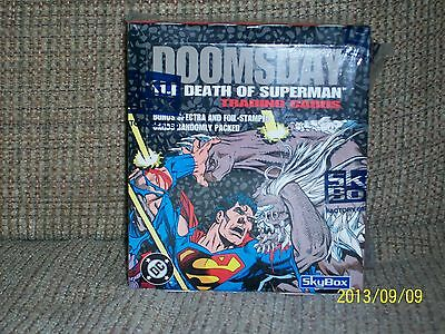 Superman - Doomsday/Death of Superman and Return of Superman trading cards