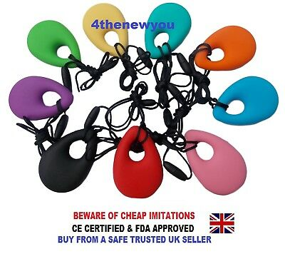 Chewelry Sensory Chews Chewy Necklace Autism Chewlry ADHD Biting Teething Toy