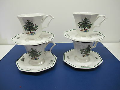 4 Nikko CHRISTMASTIME Cup Sauce Classic Collection Black Mark