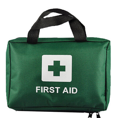 99pcs EZY-AID Supreme First Aid Kit Bag, GREEN : Inc Crepe, Ice Packs, CE Marked