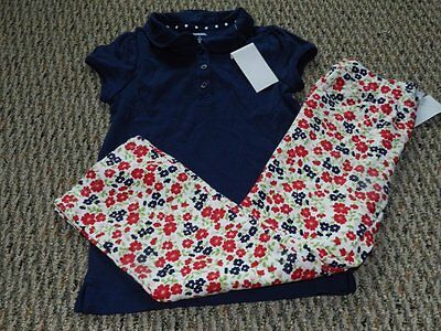 NWT GYMBOREE CHERRY CUTE RED UNIFORM BASIC POLO TOP SHIRT WHITE NAVY PINK UPICK
