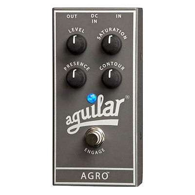 Aguilar AGRO Overdrive Bass Guitar Effects Pedal - FREE Priority Shipping
