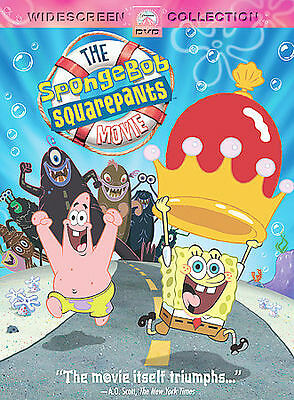 The SpongeBob Squarepants Movie DVD *Disc Only*