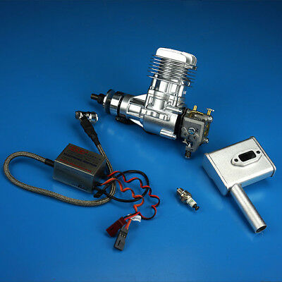 DLE ENGINES DLE-20CC Gas Airplane Engine w/Muffler DLE-20 - $249 99