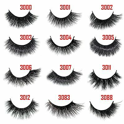 Extreme Real Mink Strip Eyelashes-Double-layer Lashes (For Flutter Lilly Huda)