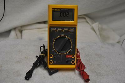 FLUKE 27 MULTIMETER with Test Leads Nice Clean