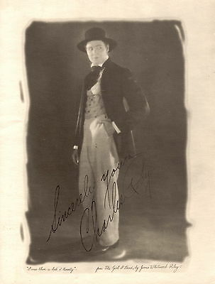 Antique portrait photo of Charles Ray in THE GIRL I LOVED 1923 11