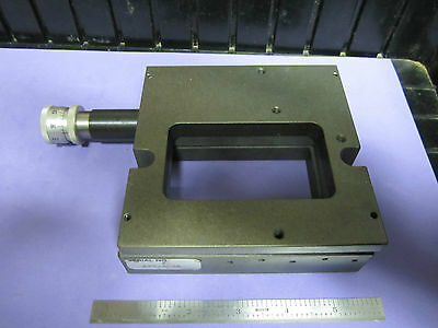 POSITIONER AEROTECH MICROMETER STAGE OPTICS POSITIONING AS IS  BIN#11