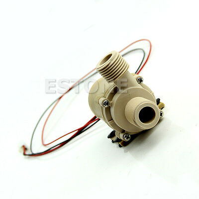 DC New 12V/24V Solar Hot Water Circulation Pump Brushless Motor Water Pump 5M 3M