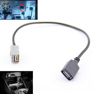USB CABLE ADAPTER AUX 2008 Onwards for Honda/Civic/Jazz/Fit/CR-V/Accord/CR-Z