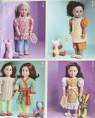 """McCall's Doll Clothes Pattern #6717 to fit 18"""" Dolls, New, Uncut"""