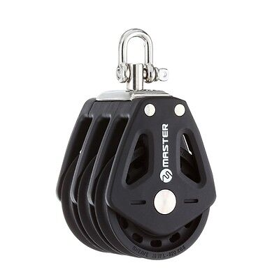 35mm Triple Swivel Shackle Block - Master BP-3505F