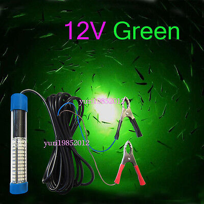 green blob led underwater night fishing light 12v submersible, Reel Combo