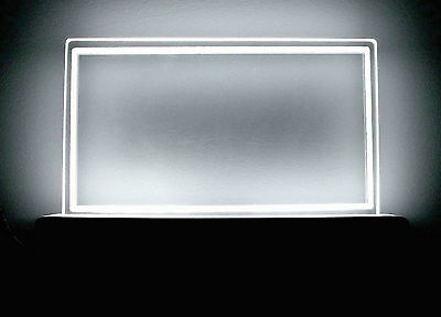 Hq Led Indoor/outdoor Lighting Plaque For Address Or Personalized Lighted Sign