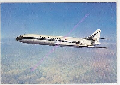 CPSM AVION PLANE Caravelle d'AIR FRANCE EN VOL Edt P.I.