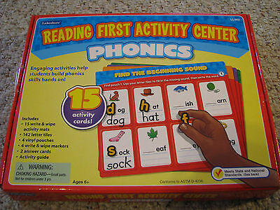 Lakeshore Learning Reading First Activity Center Phonics LL962 Common Core