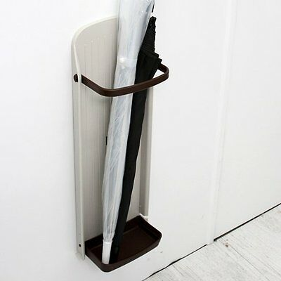 Magnetic Attachment Wall Umbrella Stand Holder Folding Hanger, Effective Space!