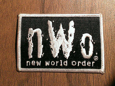 Vintage New World Order Embroidered Patch