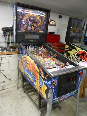 MEDIEVAL MADNESS Pinball Game by Williams -FULL LED UPGRADE INCLUDED -NICE ONE!