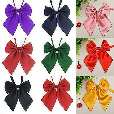 Fashion Women Girls Necktie Pre tied Bow Knot Cravat Casual Party Banquet Bowtie