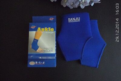 1 Pair x Neoprene Support for Ankle Joints and Muscles - all types of sports use