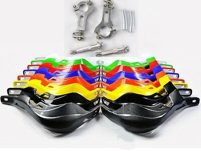 7/8 22mm Motorcycle Dirt Bike off-road MX Motocross Hand Brush Guards Handguards