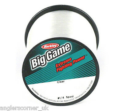 Berkley Big Game - Clear Mono / Fishing Line