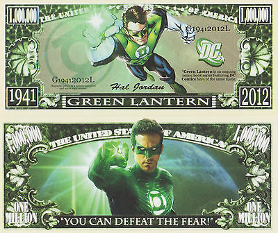RARE: Green Lantern 1,000,000 Novelty Note, Comics, Buy 5 Get one FREE
