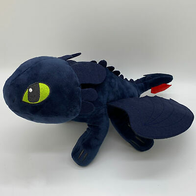 How to Train Your Dragon 2 Plush Toothless Night Fury Soft Toy Doll Teddy 10""