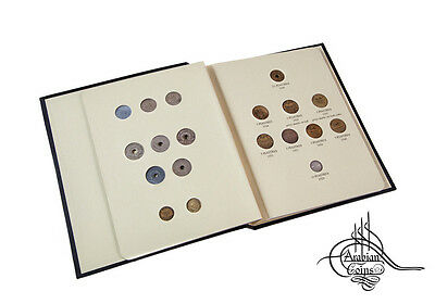 Lebanon 1924-1941 Coin Album inc. 1925 1929 1931 1933 1934 1936 1937 1940