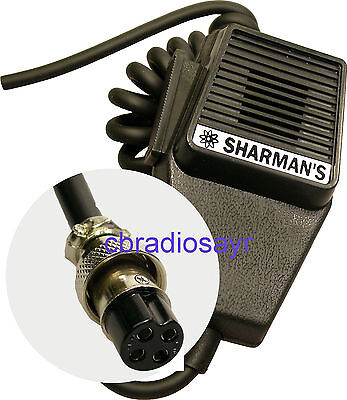 Replacement CB Microphone 4 Pin Standard Wiring, Amstrad Midland Etc